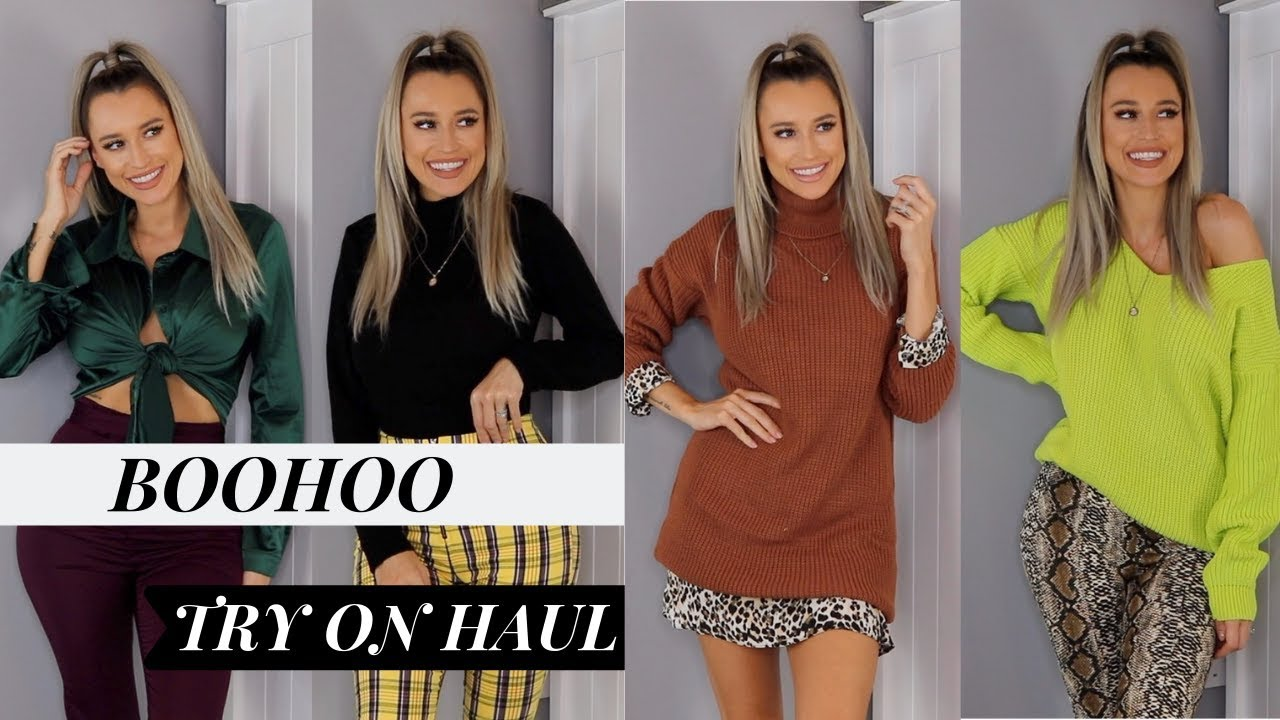 8e667dcd4f42 HUGE BOOHOO AUTUMN/WINTER TRY ON HAUL | NOVEMBER 18 - YouTube
