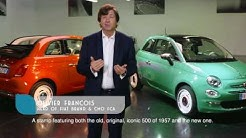 Fiat 500 Anniversario - Luca Napolitano presents the 60th birthday tributes to the Fiat 500