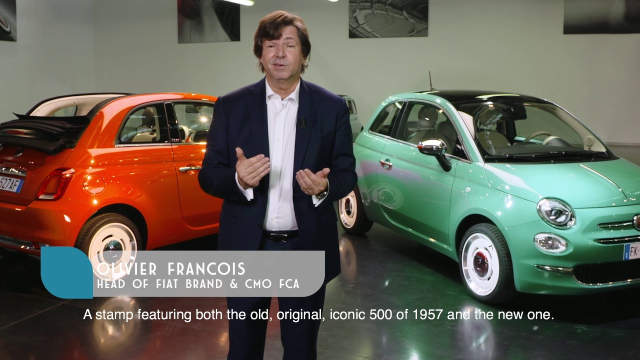 fiat 500 anniversario luca napolitano presents the 60th birthday tributes to the fiat 500. Black Bedroom Furniture Sets. Home Design Ideas