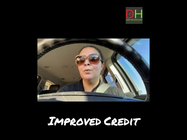 Mouna's Debthelper Success Story - Improved Credit, Lowered Interest, Shorter Payoff