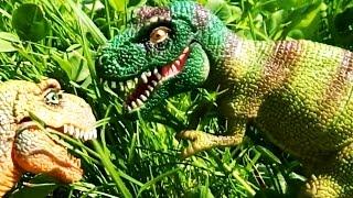 ДИНОЗАВРЫ. Тираннозавр Рекс и его брат ТИРЕКС. Динозавры мультфильм на русском для детей Игрушки ТВ