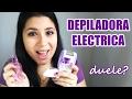 PRO Y CONTRA DE LA DEPILACION ELECTRICA / Depiladora Philips  I Ale te cuenta