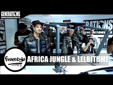 Africa Jungle & LelBitume - Freestyle (Live des Studios de Generations)