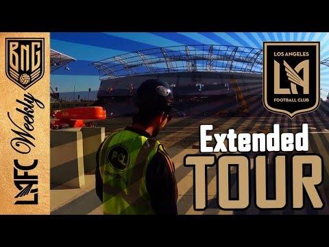 An Inside Look | Locker Room LAFC Stadium Tour