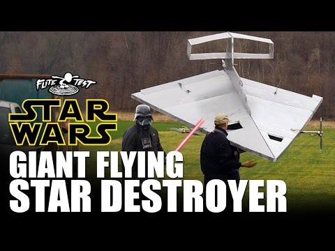 Watch a 15-Foot RC Star Destroyer Soar (and Crash)