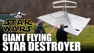 Giant Flying RC Star Destroyer  |  STAR WARS