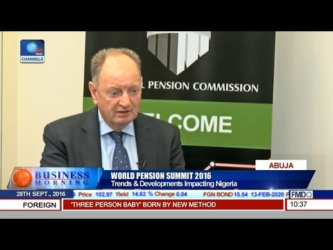 World Pension Summit: Issues In Macro-Economic Environment Pt. 1