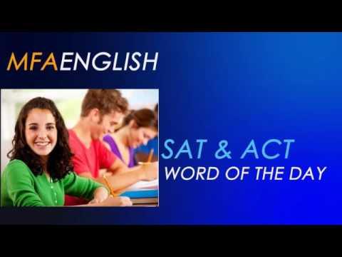 MFA ENGLISH SAT - ACT Word Of The Day: Pejorative (Kötüleyici)