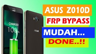 Asus Zenfone Max Z010D FRP Google Account Lock Bypass Done Android 6 0 1