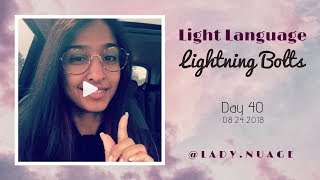 Light Language - Lady Nuage - Lightning Bolt #40