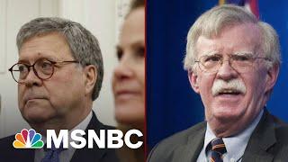 Garland DOJ Ends Criminal Inquiry Into John Bolton's Book