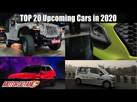 Top 20 Upcoming Cars In 2020 In India | Can't Miss | Hindi | MotorOctane