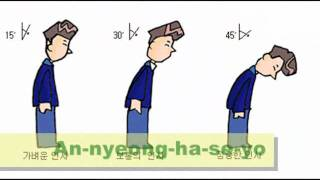 How to say Annyeong haseyo 안녕하세요 in Korean