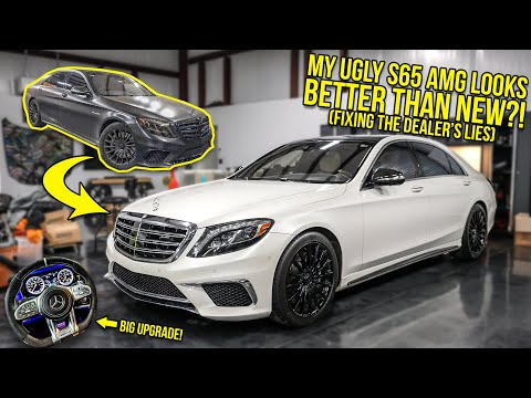The Dealership LIED And Sold Me An UGLY And BROKEN Mercedes S65 AMG...So I Made It BETTER THAN NEW