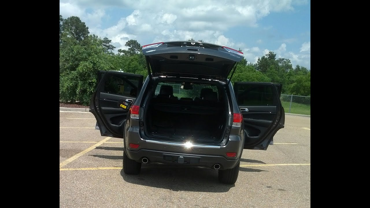 Cherokee For Less >> Power Liftgate On My 2014 Grand Cherokee Limited - YouTube