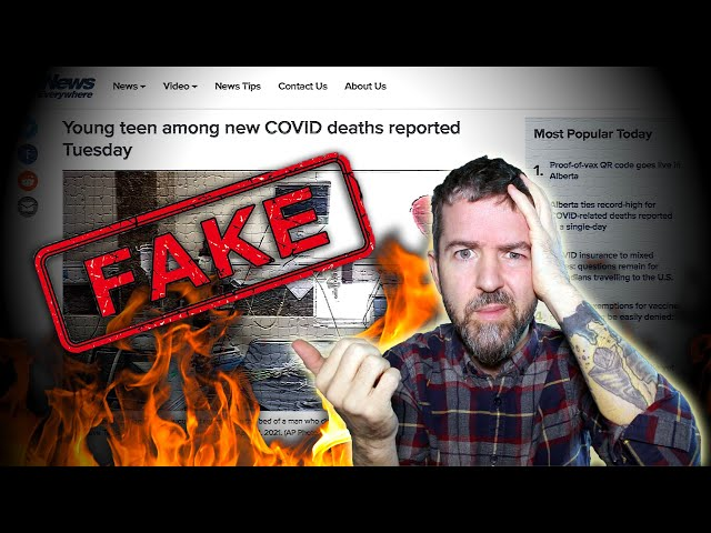 THE TRUTH ABOUT ALBERTA TEENS DEATH And The FAKE NEWS Surrounding The COVID-19(84) DEATH COUNTS!!!
