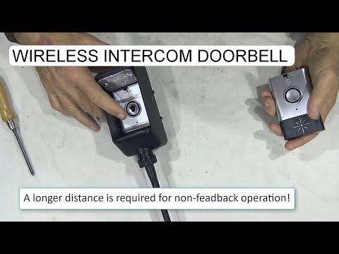 WATERPROOF CASE FOR WIRELESS INTERCOM DORBELL H6