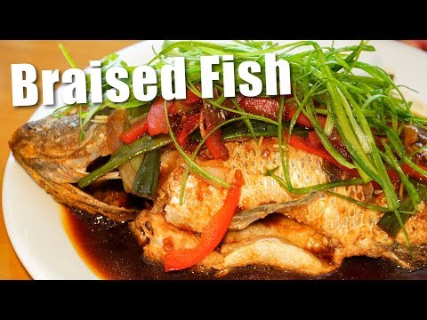 Super Delicious Chinese Braised Fish