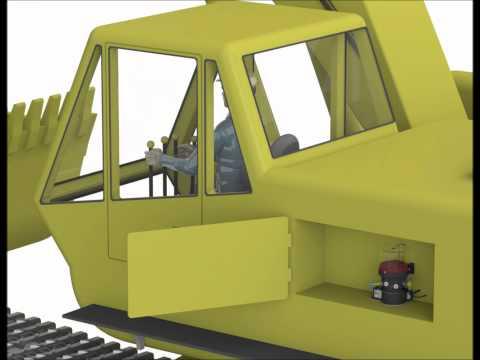 Excavator Lubrication System