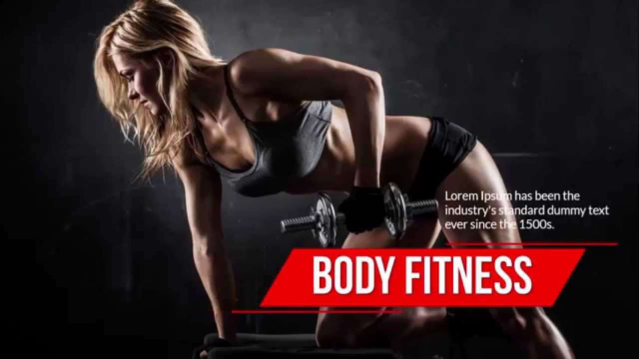 PowerPoint Templates Free Fitness YouTube – Fitness Templates Free