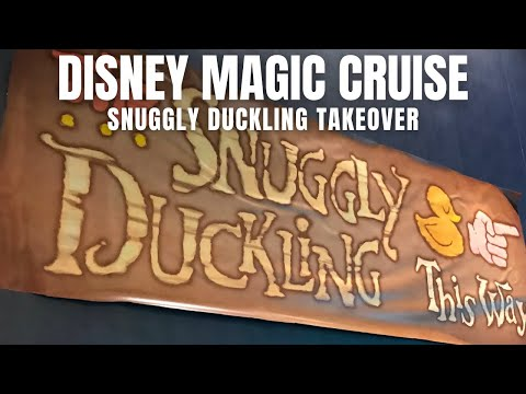 Disney Magic Cruise: The Snuggly Duckling & Match Your Mate