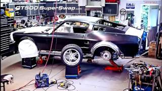 Conversion Mustang shelby gt500 2012 a shelby gt 500 67