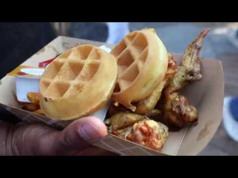 Chef Toya at Fried Chicken Festival 2017