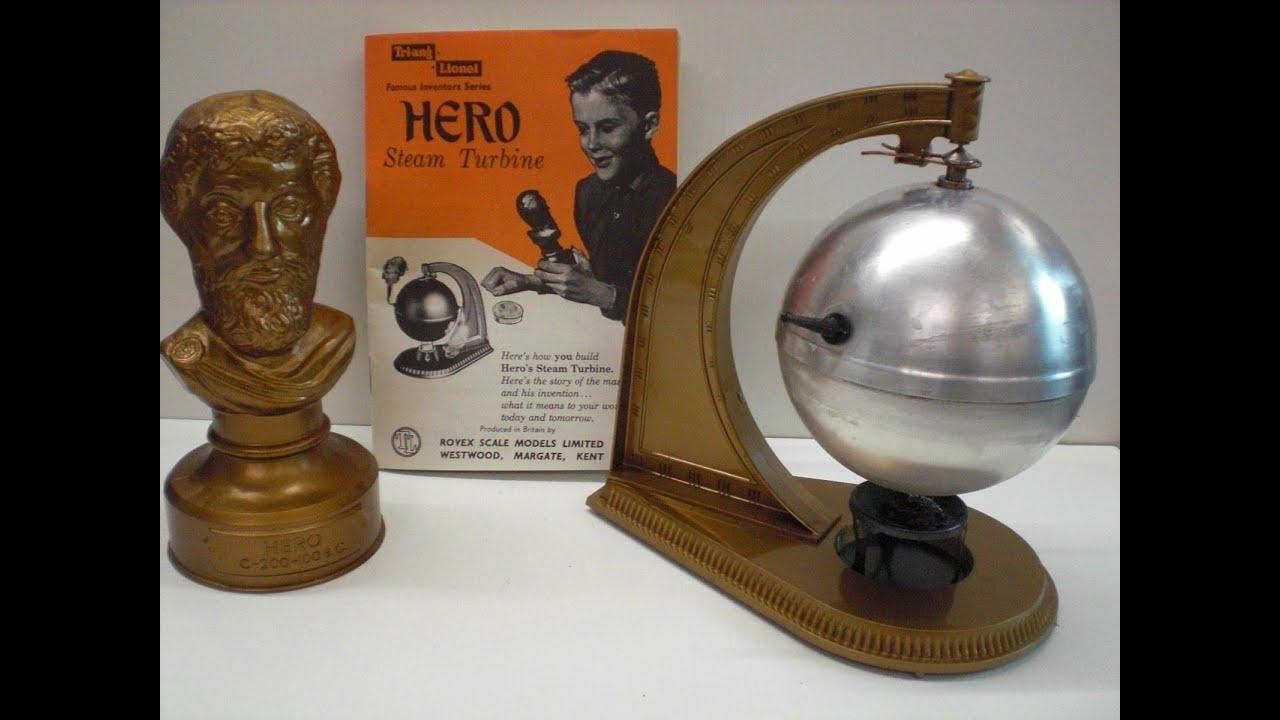 HERO Steam Turbine Steam Ball