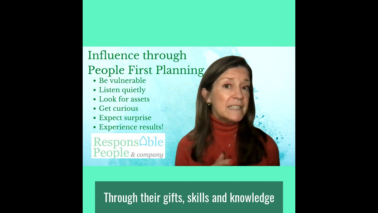 Influence through People First Planning