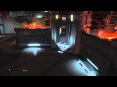 Alien: Isolation how to initialize the distribution conduct