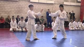 Выступление по айкидо (дети 10-12 лет)