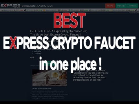 EXPRESS CRYPTO FAUCET ROTATOR ! Earn BTC !