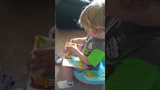 AJ potty training (2014)?