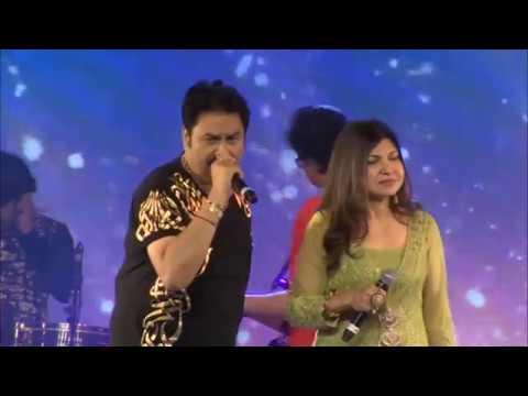 mera-dil-bhi-kitna-pagal---kumar-sanu-&-alka-yagnik--live-in-concert,-dubai