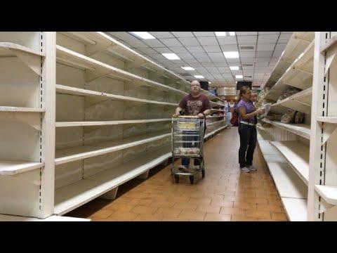 Resultado de imagen para venezuela mercado vacio youtube
