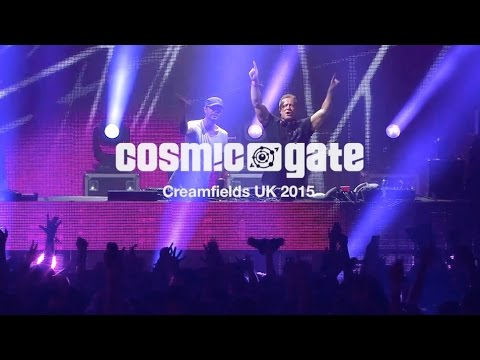 Cosmic Gate at Creamfields UK 2015