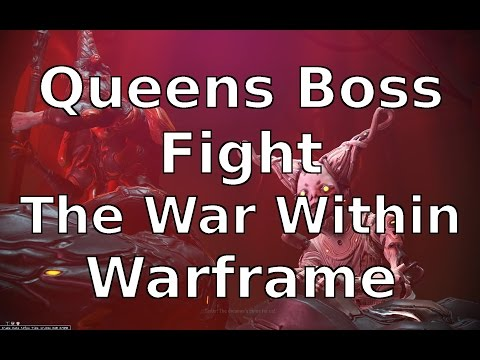 Queens Boss Fight The War Within Warframe thumbnail