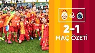 Maç Özeti | Galatasaray U19 2-1 Club Brugge U19