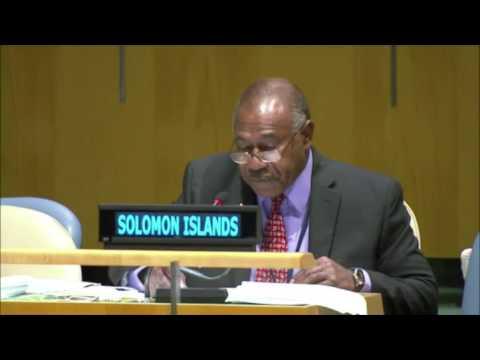 Tanggapan Solomon Islands atas Jawaban Indonesia di Sidang umum PBB ke-71 Tahun 2016