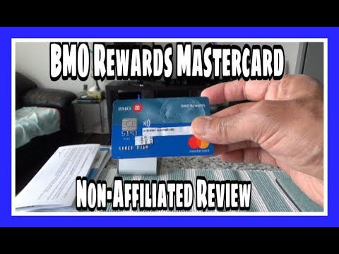 BMO Rewards MasterCard   Non-Affiliated   Unboxing & Review   Canadian Personal Finance
