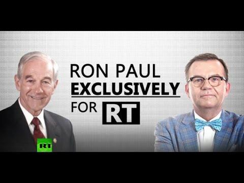 RT's Peter Lavelle interviews Dr. Ron Paul