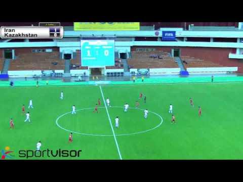 Iran-Kazakhstan 1st half