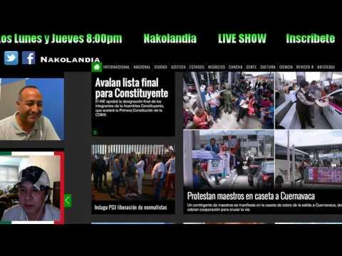 """Hablando Al Chile """"Reformando Noticias""""-Nakolandia- #2"""
