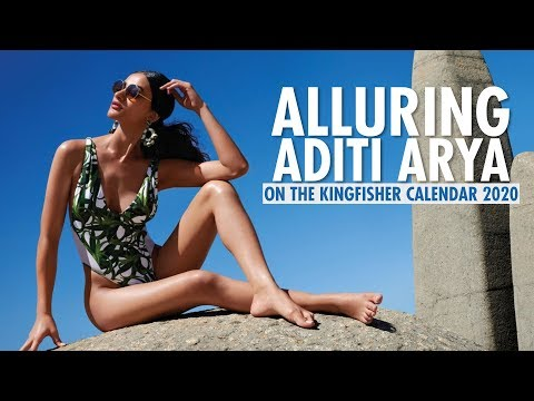 Former Miss India World Gets Adventurous On Making Of The Kingfisher Calendar 2020| Aditi Arya| EP 2
