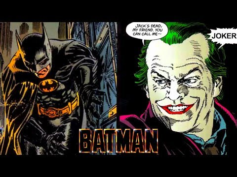 Batman (1989) Movie & Comic Comparison