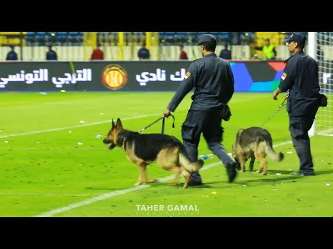 ضرب الحكم ابراهيم نور الدين - نهائي البطولة العربية