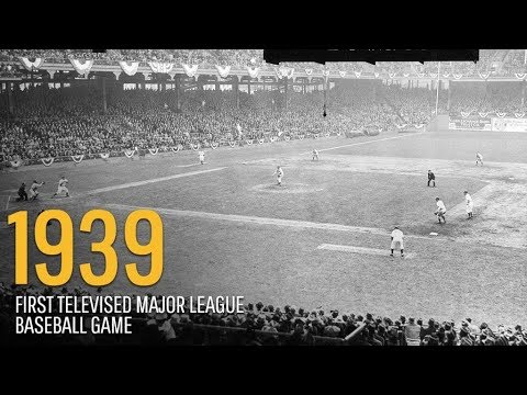 ON THIS DAY | AUGUST 23 | First Televised Major League Baseball Game