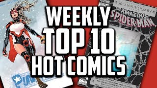 Hot Top 10 Comic Books On The Rise - DEC (Week 2) 2018
