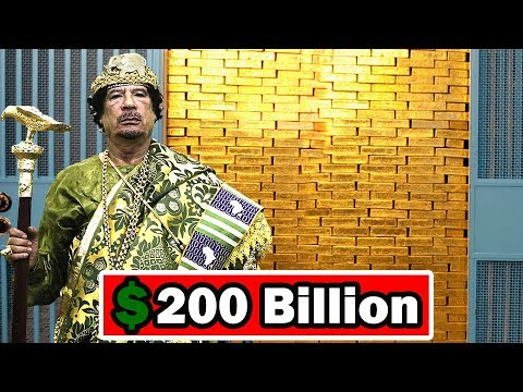 Muammar Gaddafi's Lifestyle ★ Net worth ★ Biography ★ cars ★ houses ★ jet ★ Family