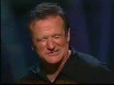 robin williams standup, golf and cocaine